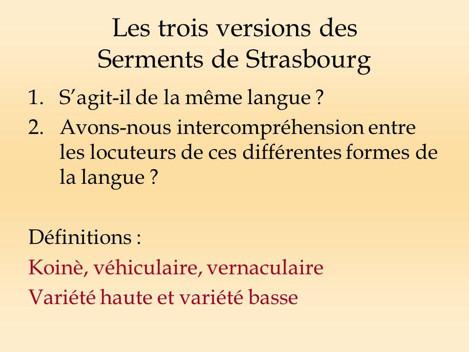 Construction de la nation et diffusion de la langue Quelle langue pour ladministration de lEtat .