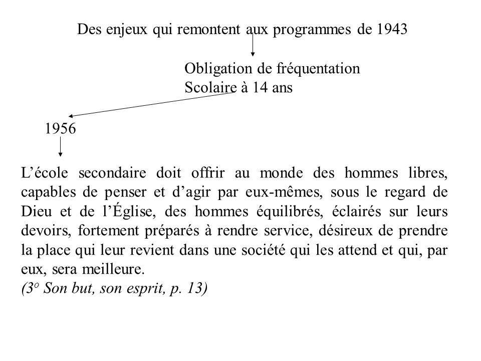 1963 Programme pour les néo canadiens Il est évident quun nouveau citoyen, mieux informé des caractéristiques de sa nouvelle patrie, sy attache davantage et cherche à mieux la servir par un civisme éclairé.