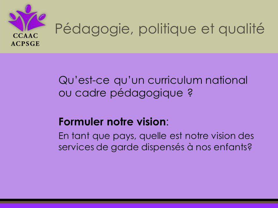 Quest-ce quun curriculum national ou cadre pédagogique .