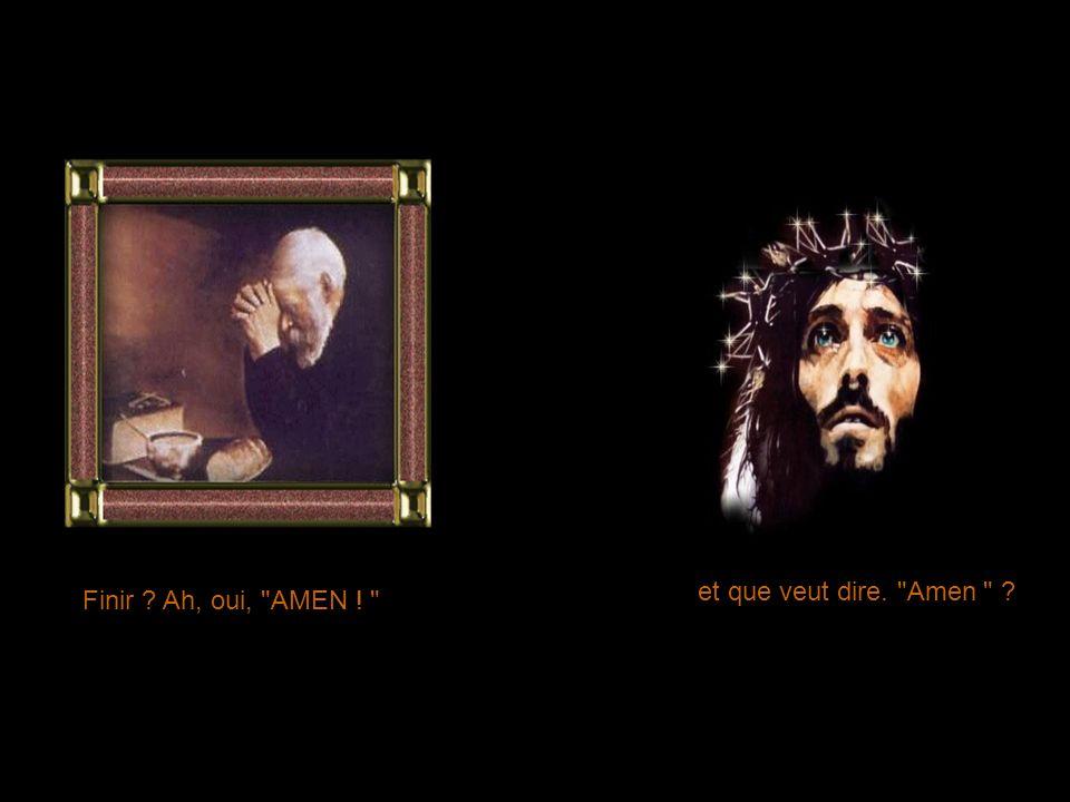J en suis honteux, Seigneur, pardonne-moi . Évidemment, je te pardonne .