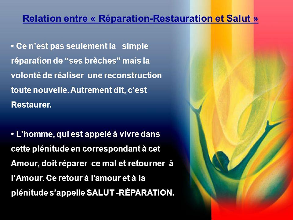 Ce nest pas seulement la simple réparation de ses brèches mais la volonté de réaliser une reconstruction toute nouvelle.