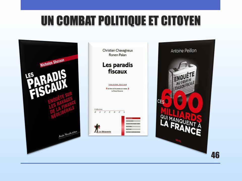 46 UN COMBAT POLITIQUE ET CITOYEN