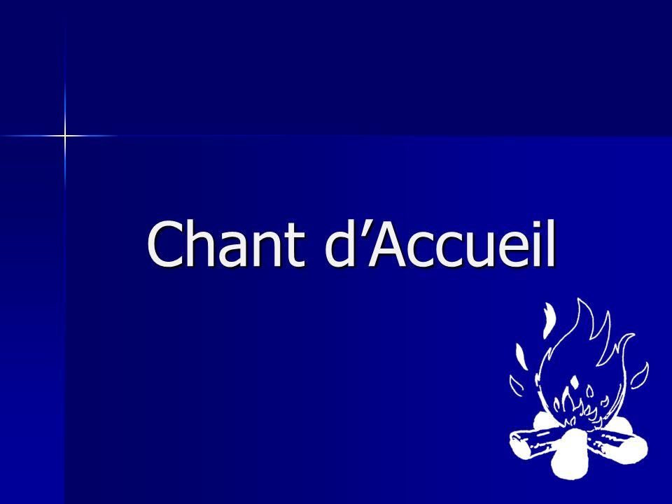 Chant dAccueil