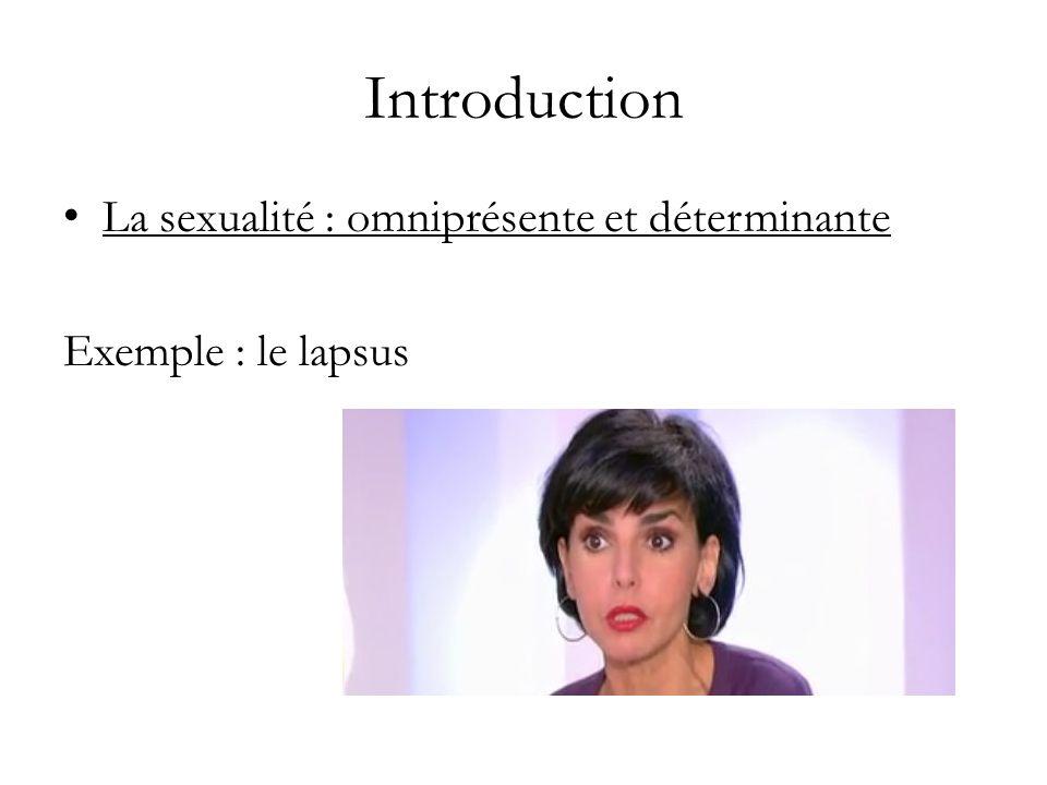 Introduction La sexualité : déterminante et tabou – Lexemple de lexcision – Onan le barbare .