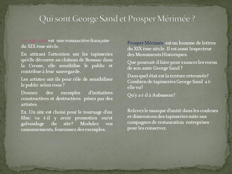 George Sand est une romancière française du XIX ème siècle.
