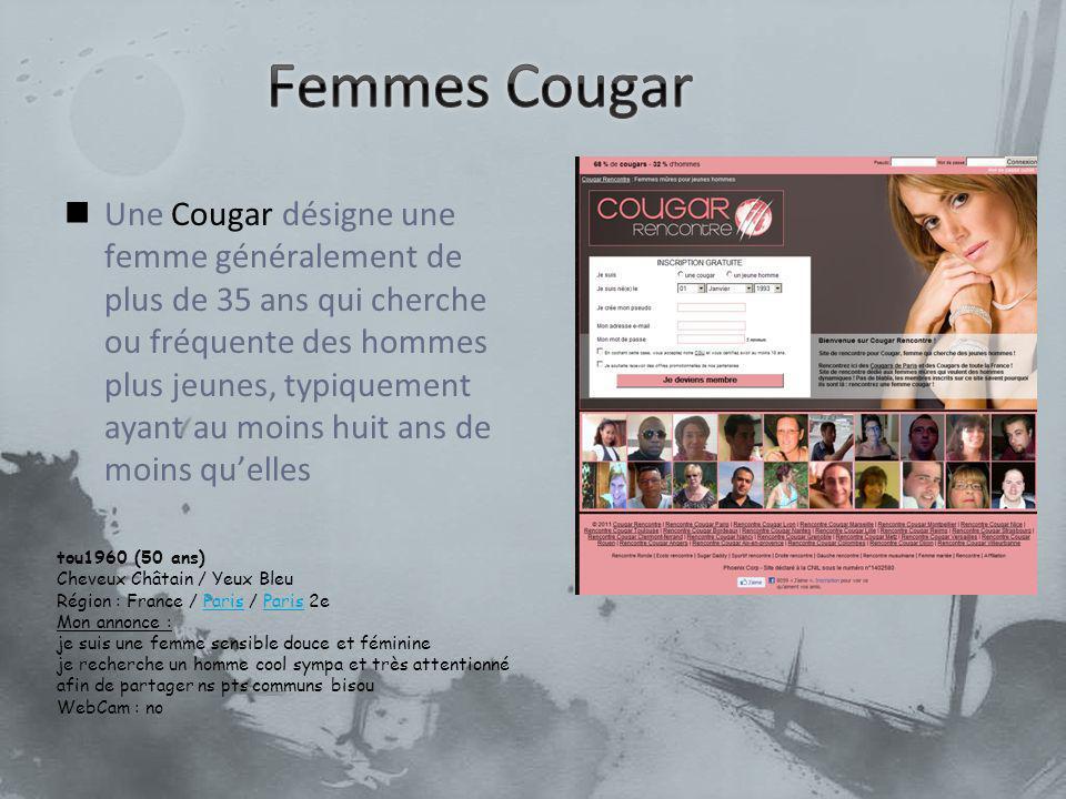 tou1960 (50 ans) Cheveux Châtain / Yeux Bleu Région : France / Paris / Paris 2e Mon annonce : je suis une femme sensible douce et féminineParis je rec