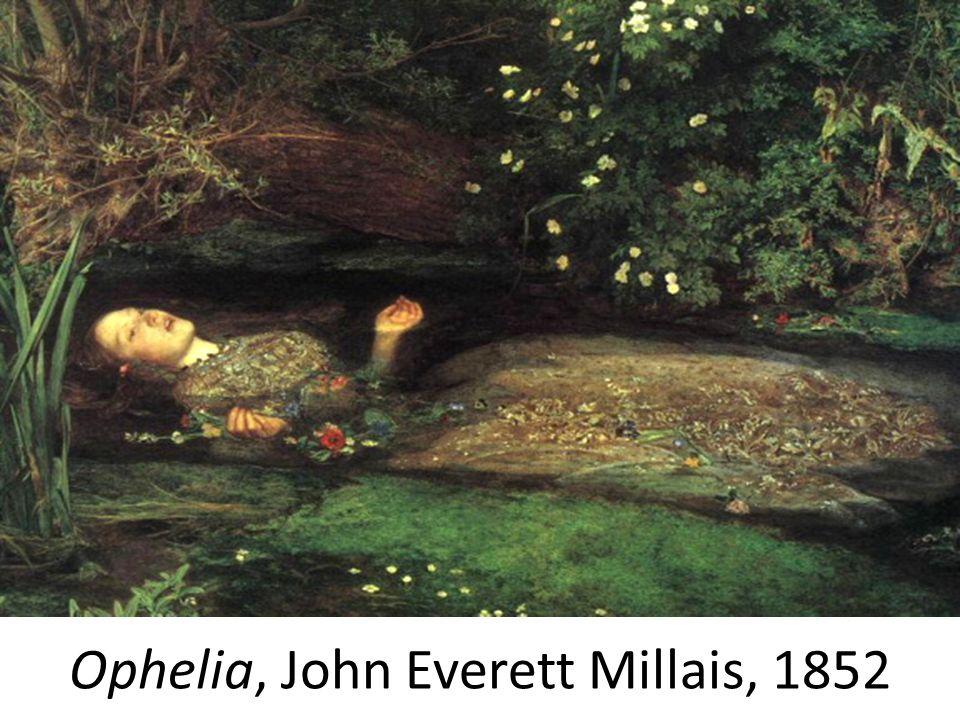 Ophelia, John Everett Millais, 1852