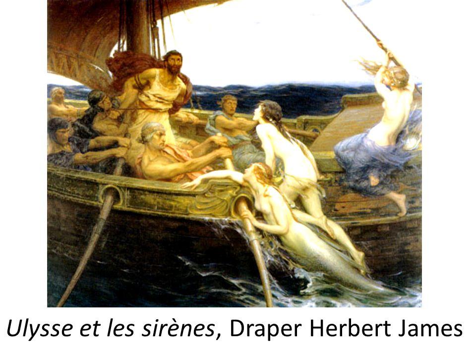 Ulysse et les sirènes, Draper Herbert James