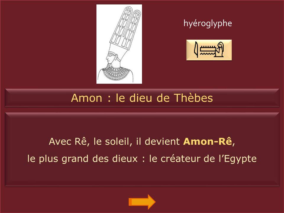 Ptah : le dieu des artisans Il porte un long manteau. Il tient le sceptre ouas (la force), la croix ankh (la vie éternelle) et le pilier djed (la stab
