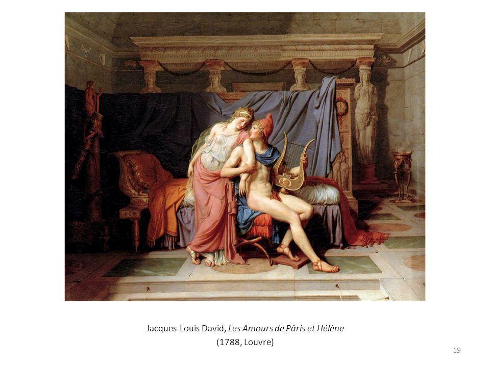 Jacques-Louis David, Les Amours de Pâris et Hélène (1788, Louvre) 19
