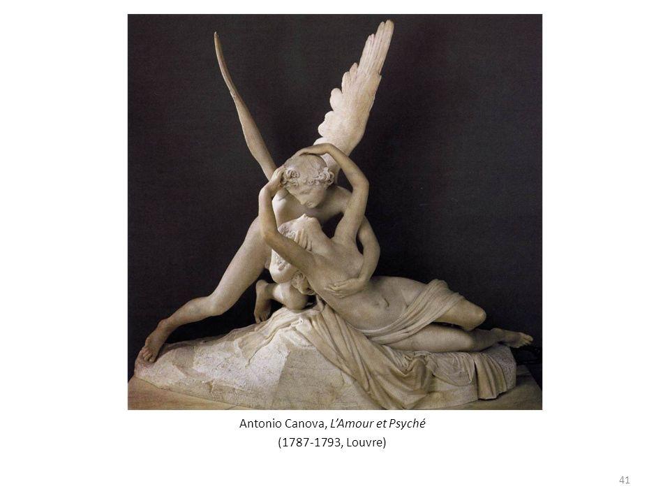Antonio Canova, LAmour et Psyché (1787-1793, Louvre) 41