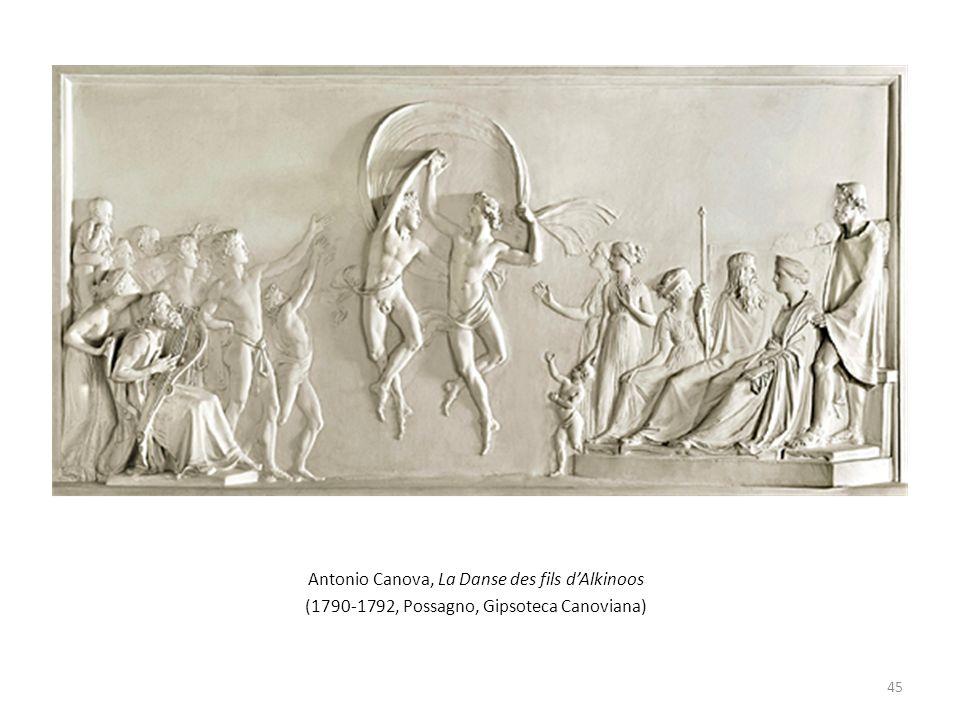 Antonio Canova, La Danse des fils dAlkinoos (1790-1792, Possagno, Gipsoteca Canoviana) 45