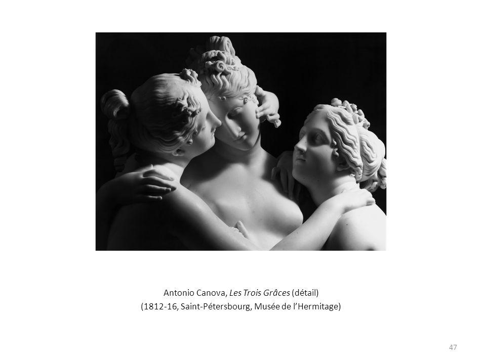 Antonio Canova, Les Trois Grâces (détail) (1812-16, Saint-Pétersbourg, Musée de lHermitage) 47