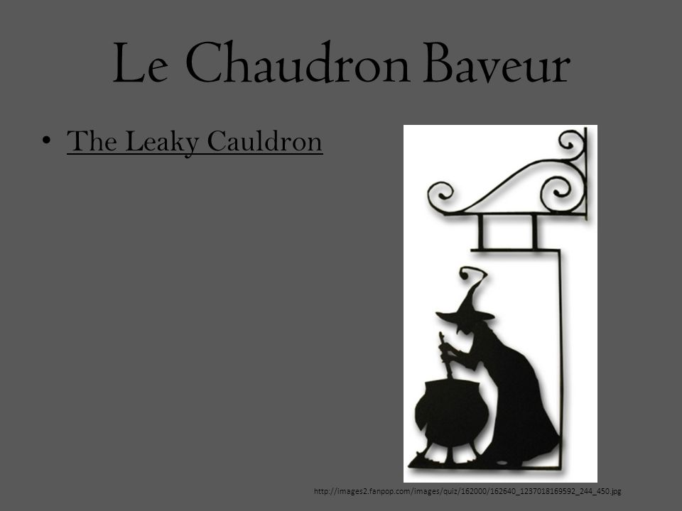 Le Chaudron Baveur The Leaky Cauldron http://images2.fanpop.com/images/quiz/162000/162640_1237018169592_244_450.jpg