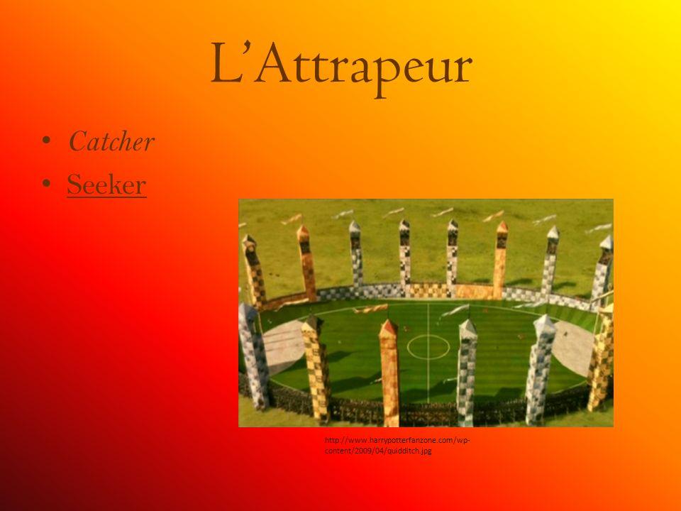 LAttrapeur Catcher Seeker http://www.harrypotterfanzone.com/wp- content/2009/04/quidditch.jpg