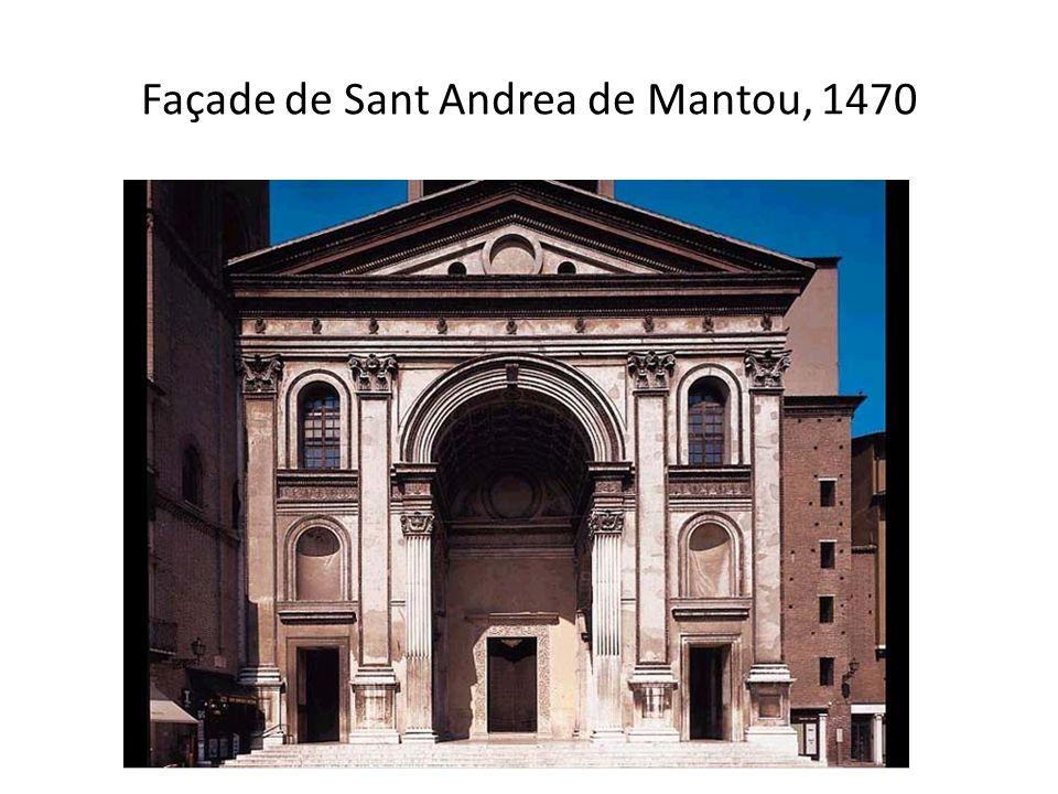 Façade de Sant Andrea de Mantou, 1470