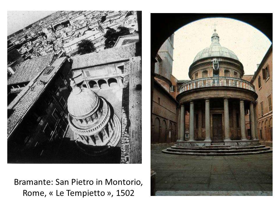 Bramante: San Pietro in Montorio, Rome, « Le Tempietto », 1502