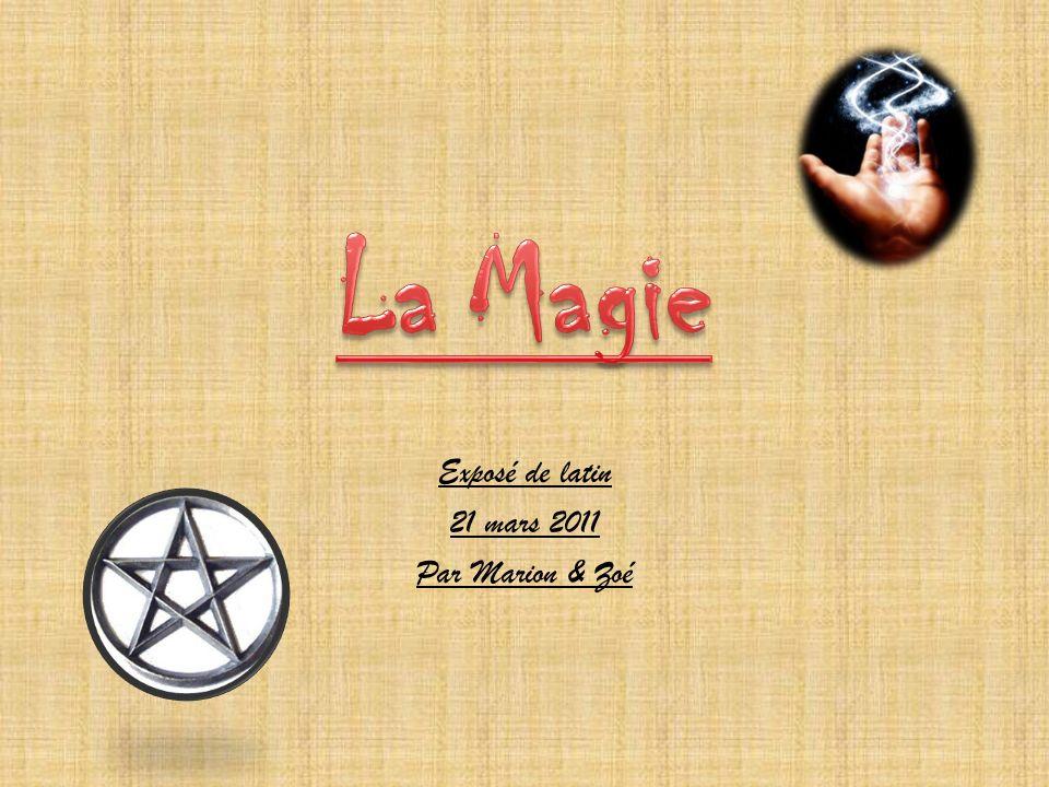Exposé de latin 21 mars 2011 Par Marion & Zoé