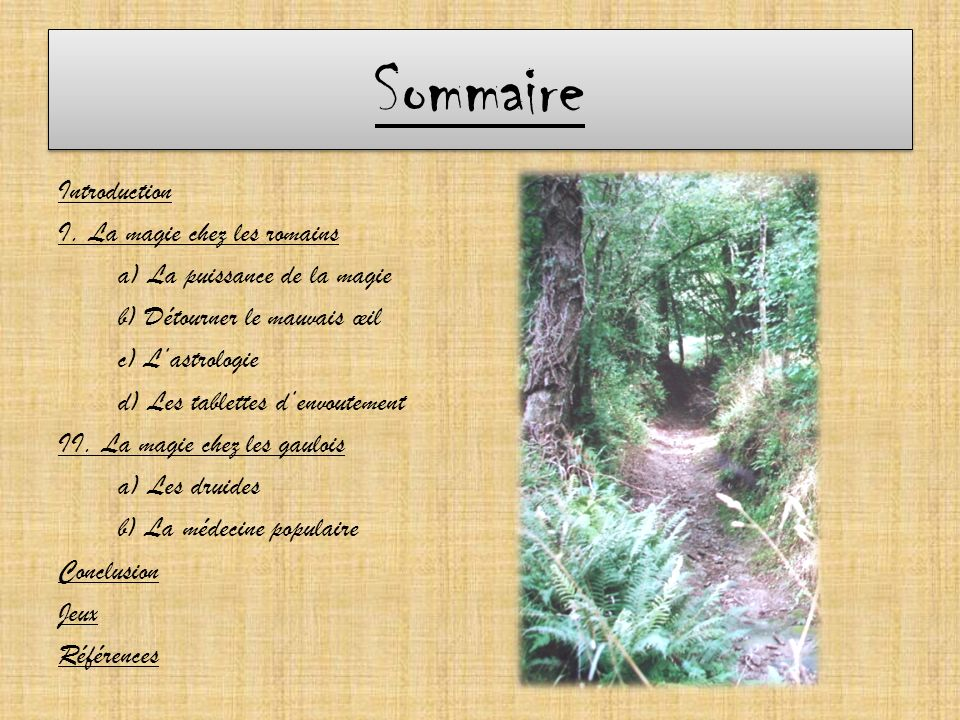 Sommaire Introduction I.