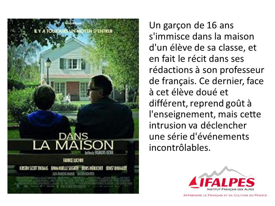 Un garçon de 16 ans s immisce dans la maison d un élève de sa classe, et en fait le récit dans ses rédactions à son professeur de français.