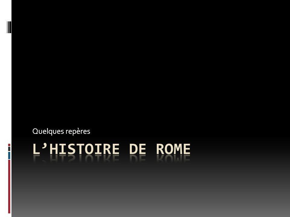De la chute de Troie A la naissance de Rome