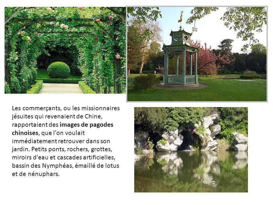 Vue aérienne des jardins de Versailles