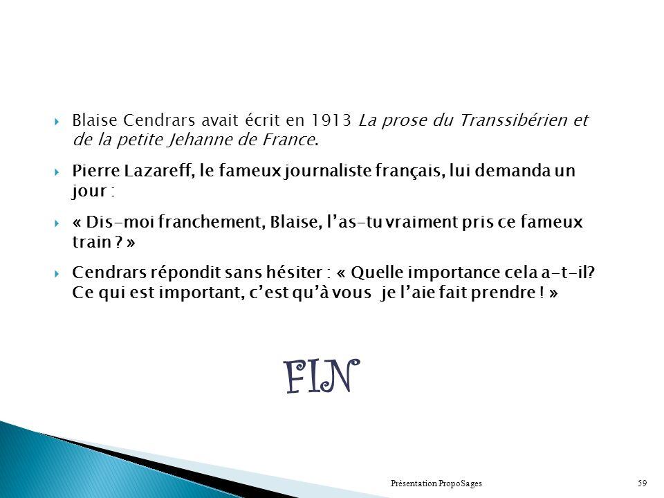 Blaise Cendrars Quotes Blaise Cendrars Avait Crit en