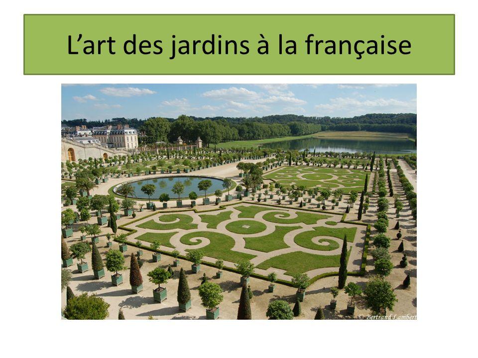 Lart des jardins à la française