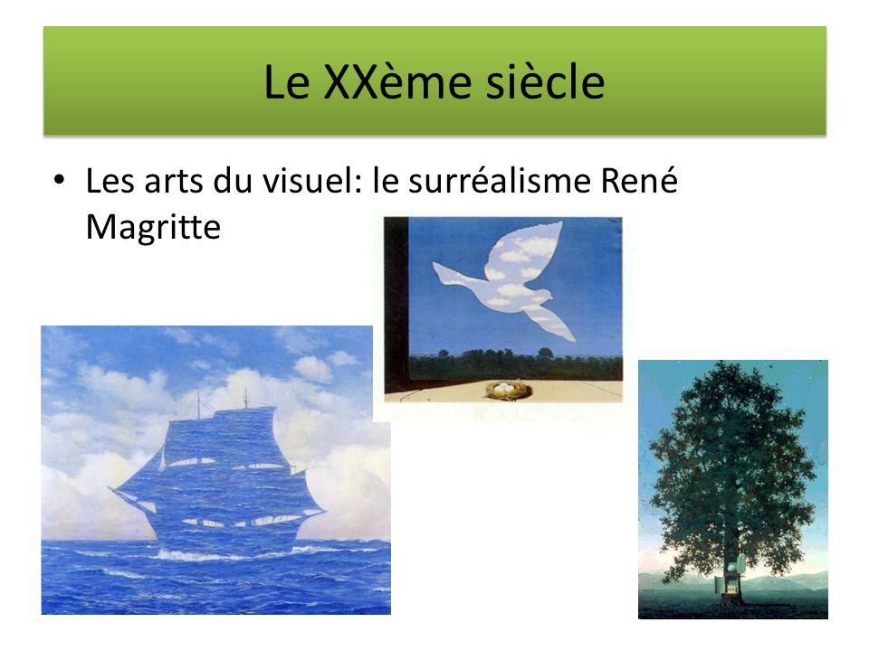 Le XXème siècle Les arts du visuel: le surréalisme René Magritte