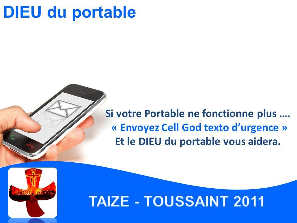 Si votre Portable ne fonctionne plus ….