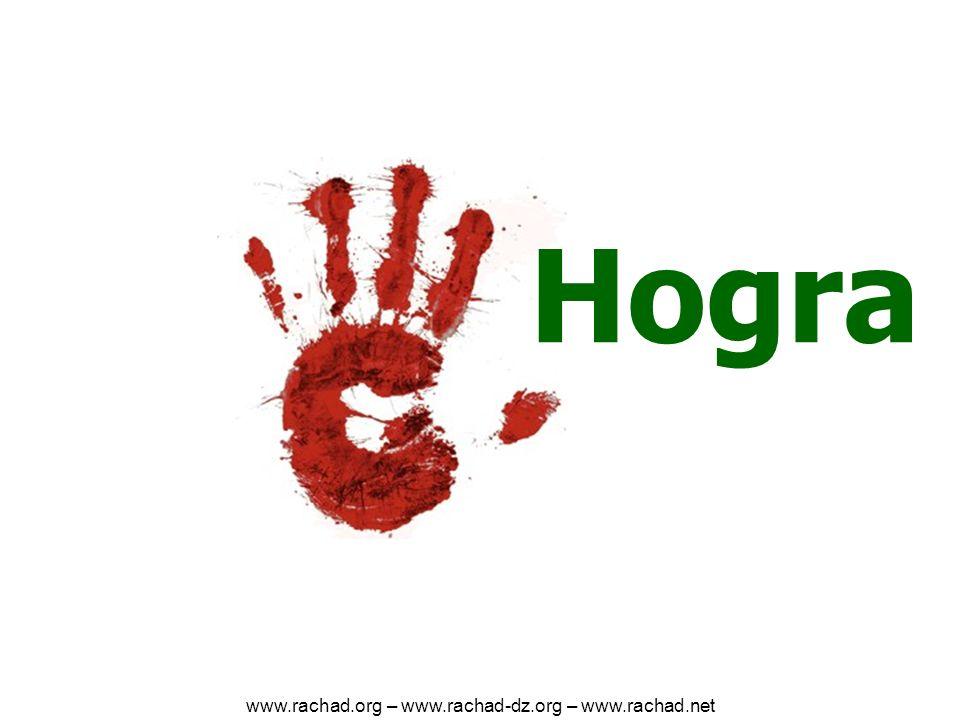 Hogra www.rachad.org – www.rachad-dz.org – www.rachad.net