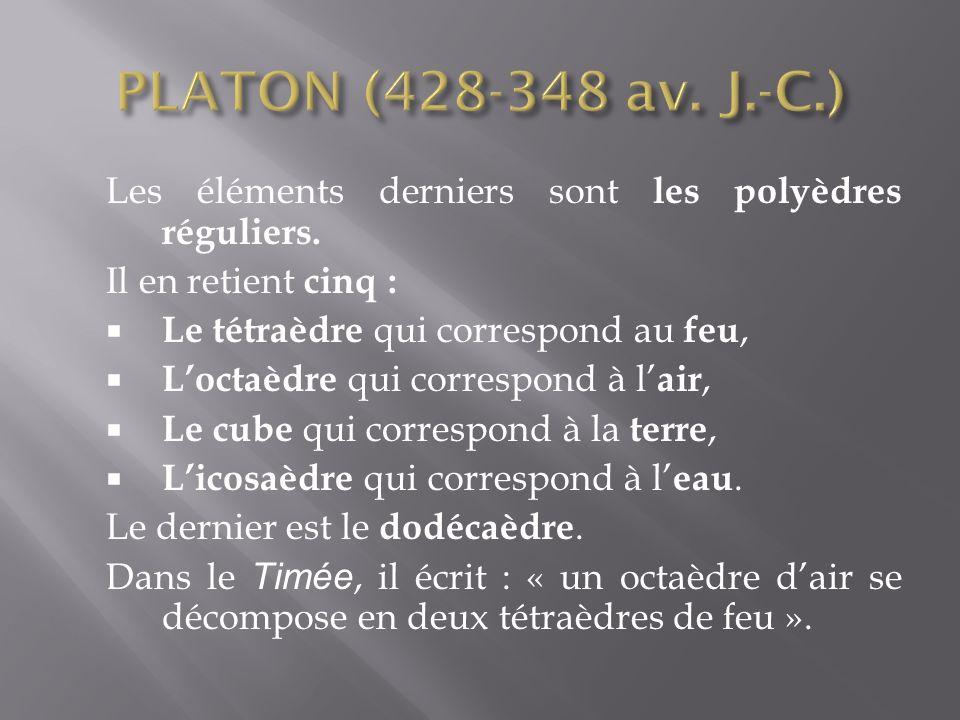 Pierre Gassend dit Gassendi (1592-1655) conception de la matière fondée sur lexistence des atomes et du vide.
