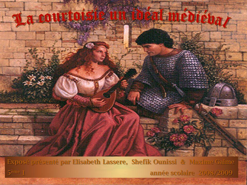 Pour Guenièvre, qui le protège et lui inspire vaillance et courtoisie, Lancelot, la figure exemplaire du chevalier courtois, et prêt à mourir héroïquement.