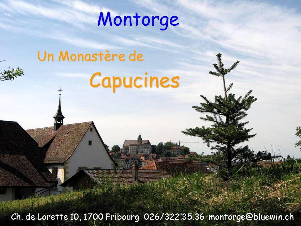 Un Monastère de Montorge Capucines Ch.