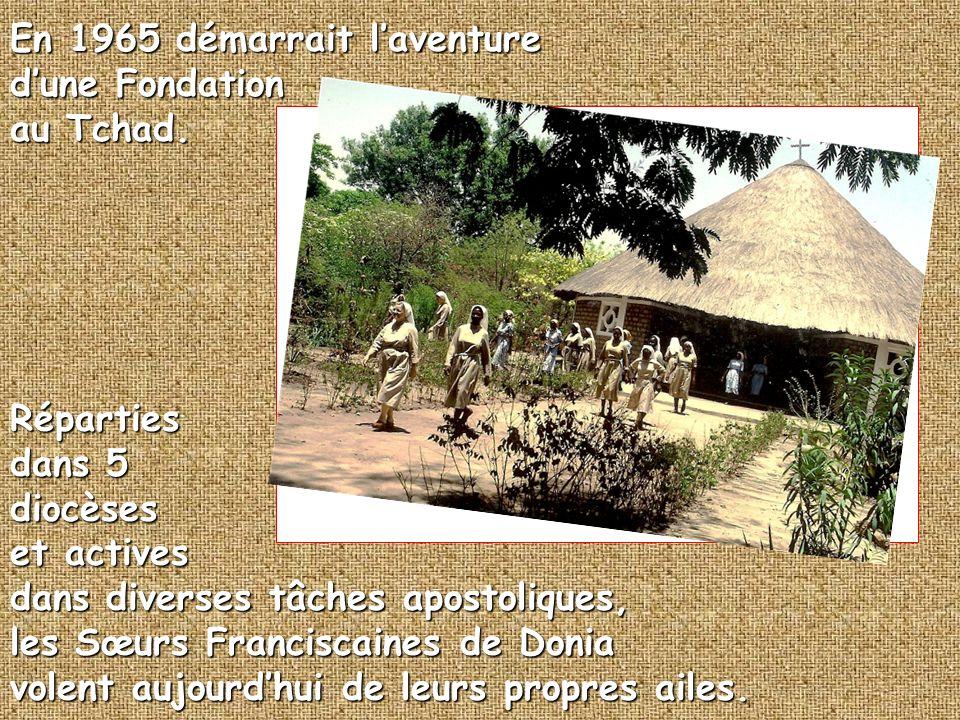 En 1965 démarrait laventure dune Fondation au Tchad.