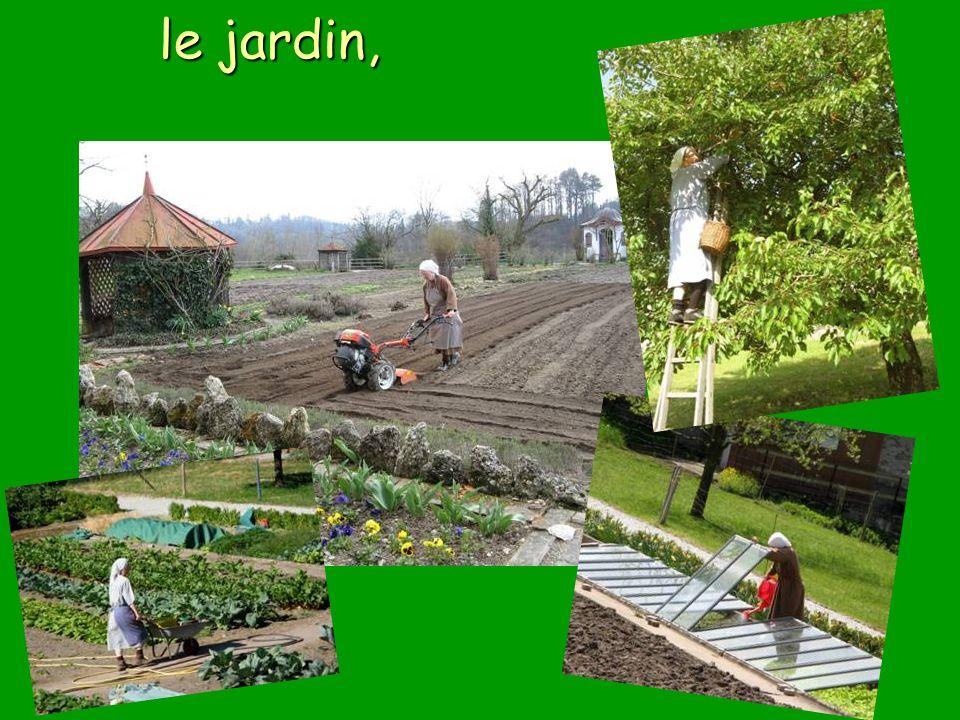 le jardin, le jardin,