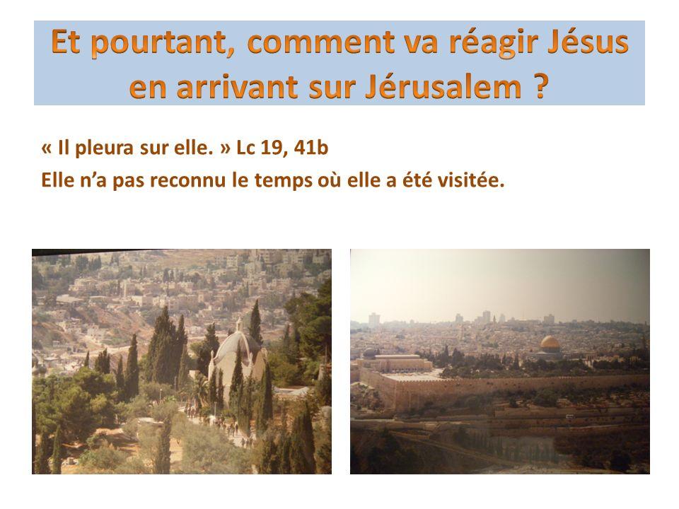 « Voici que nous montons à Jérusalem et que va saccomplir tout ce que les prophètes ont écrit au sujet du Fils de lhomme.