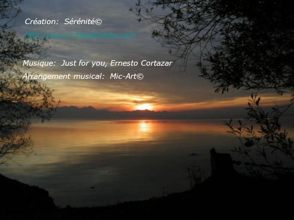 Création: Sérénité© http://www.chezserenite.com Musique: Just for you, Ernesto Cortazar Arrangement musical: Mic-Art©