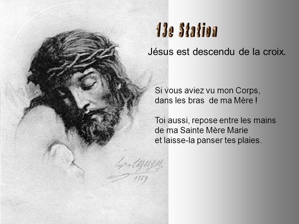 Jésus meurt sur la Croix. Je suis mort, pour mieux vous donner la Vie. En tout temps je vous ai aimés. Quand ta vie s'arrêtera, que ce soit dans un cr