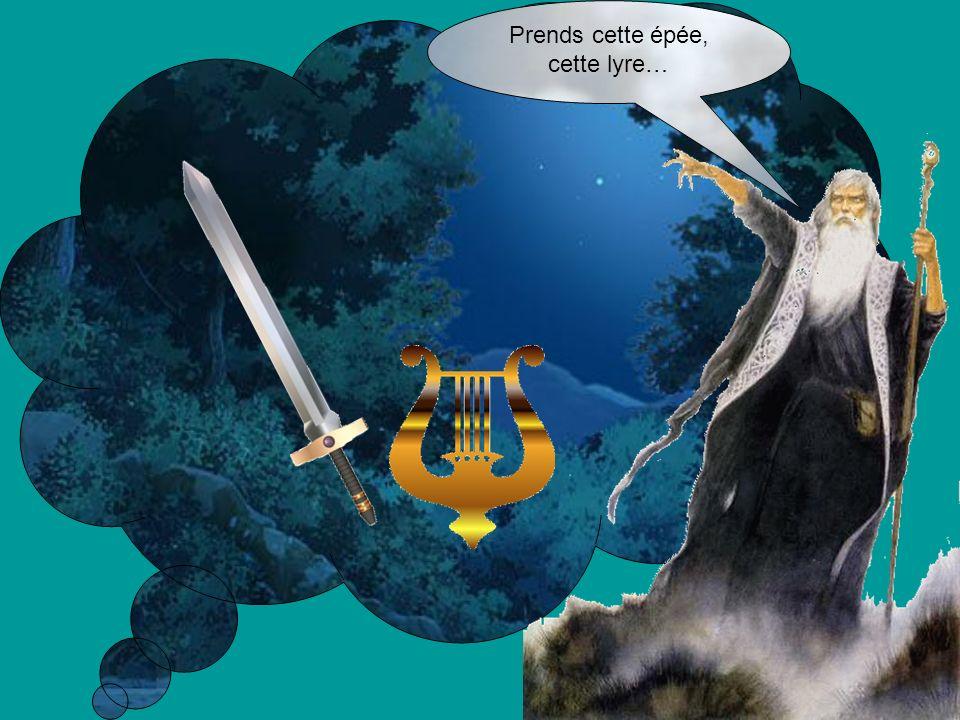 Prends cette épée, cette lyre…