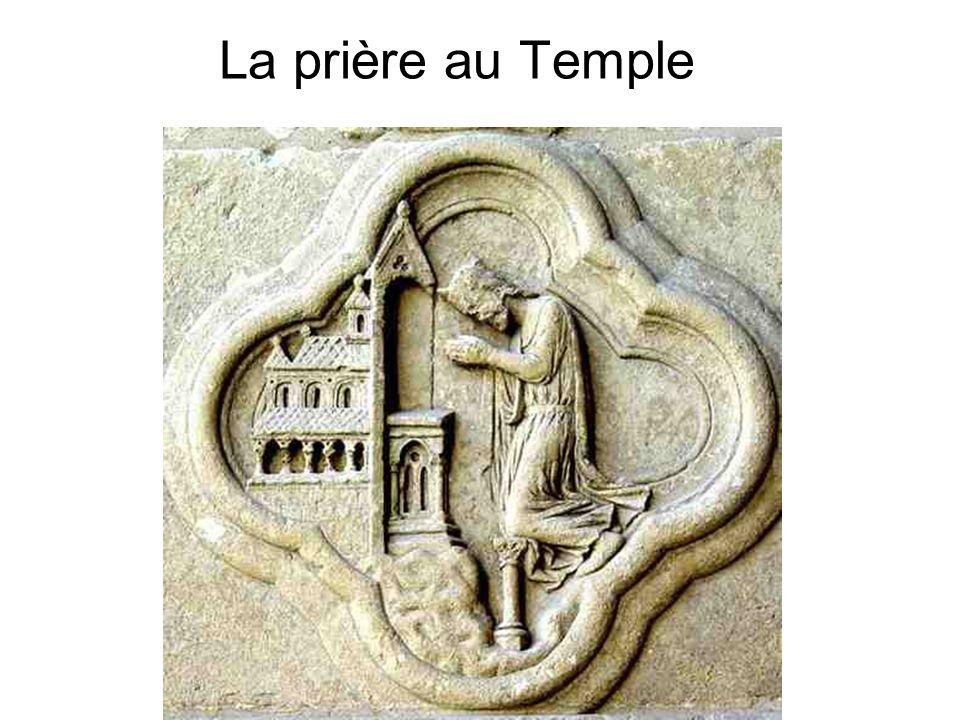 La prière au Temple