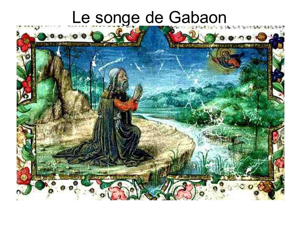 Le songe de Gabaon