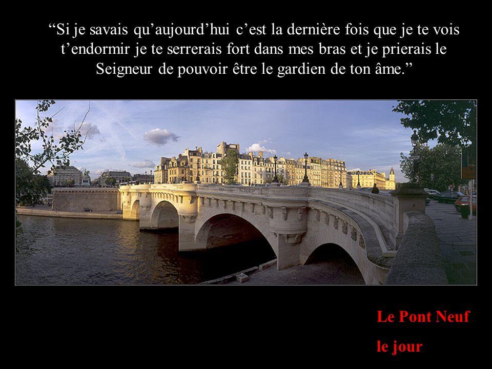 Bras de la Seine depuis l Ile Saint Louis Dis toujours ce que tu ressens et fais ce que tu penses.