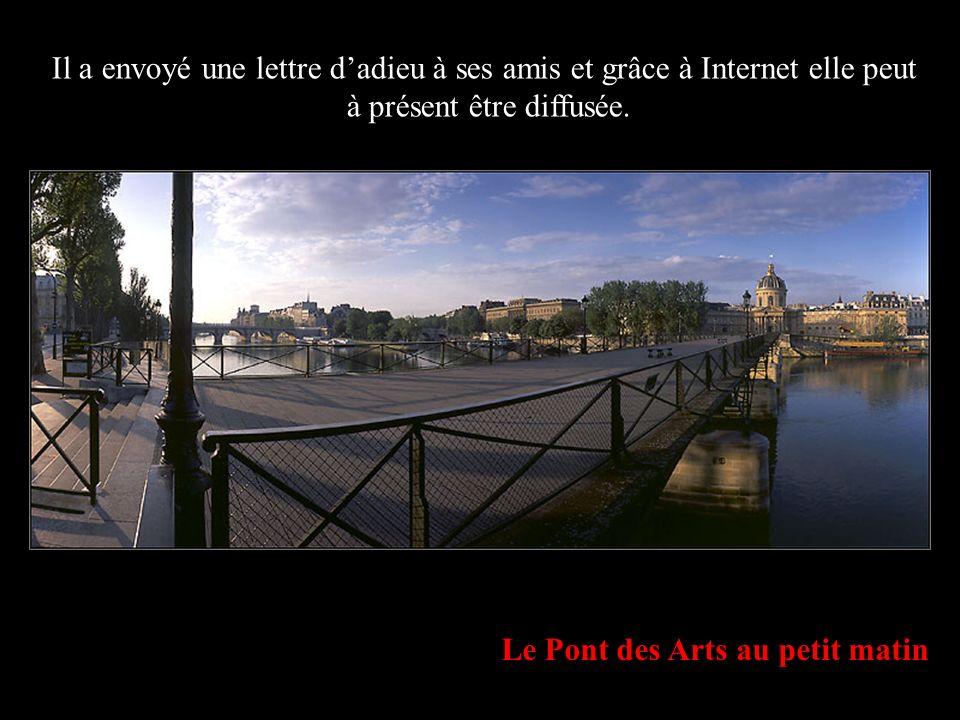 L Ile de la Cité et Notre-Dame de Paris, depuis le Port de l Hôtel-de-Ville Garde auprès de toi ceux que tu aimes; dis-leur à loreille que tu as besoin deux; aime-les et soigne-les bien; prends le temps de leur dire je te comprends, pardonne-moi, sil te plaît, merci et tous les autres mots damour que tu connais.
