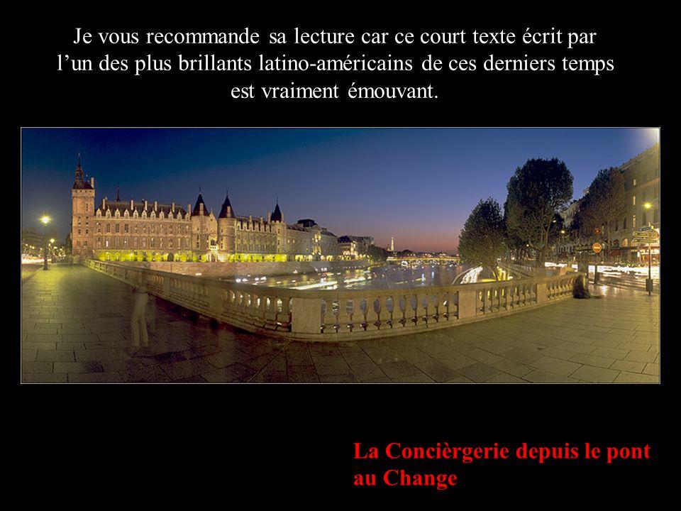Notre-Dame de Paris depuis le Pont de l Archevéché Personne ne se souviendra de toi pour tes pensées secrètes.