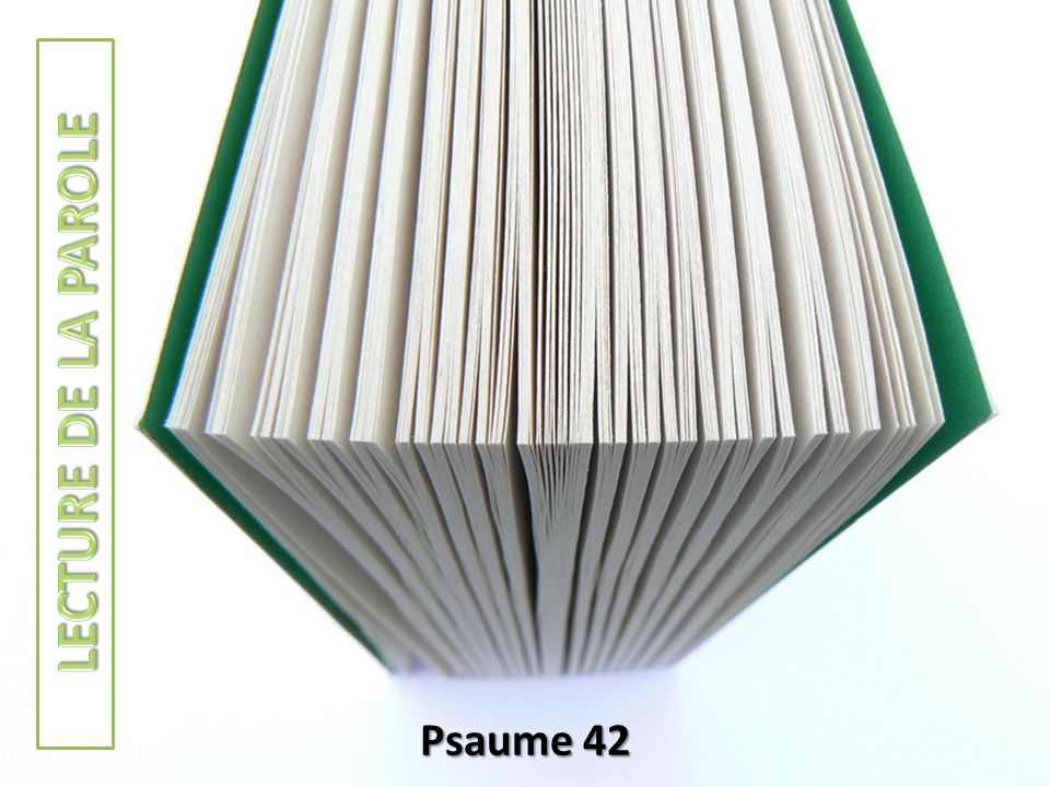 Psaume 42