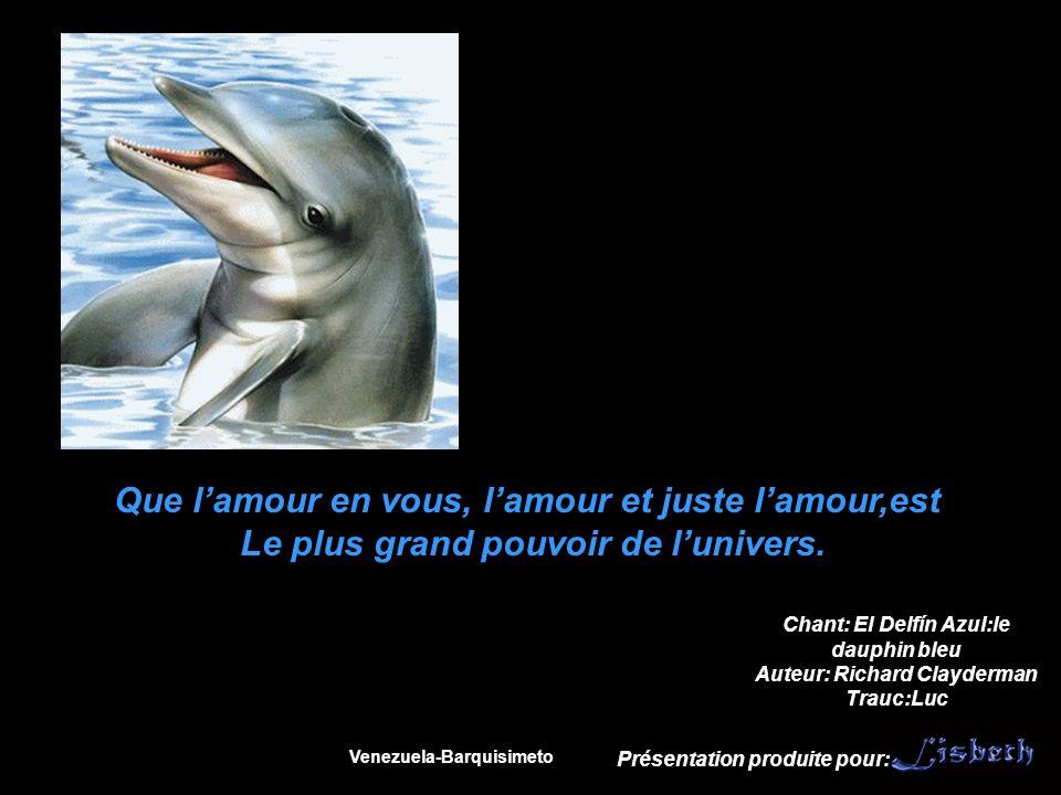 Prenez bien soin des dauphins et des baleines car ils sont des espèces très évoluées.
