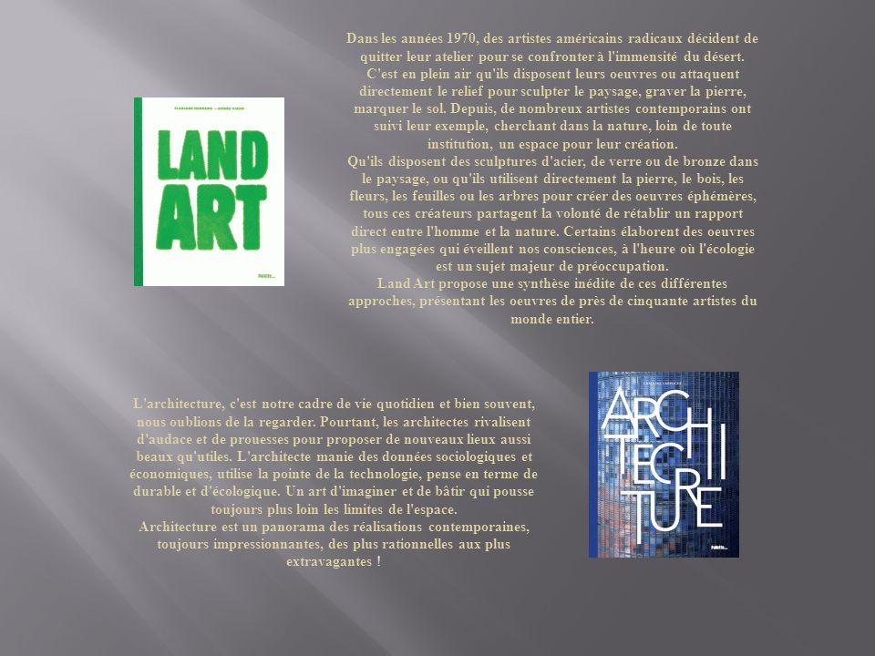 Dans les années 1970, des artistes américains radicaux décident de quitter leur atelier pour se confronter à l immensité du désert.