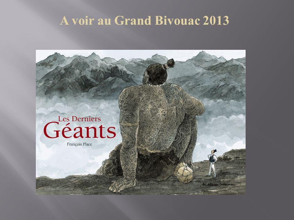 A voir au Grand Bivouac 2013