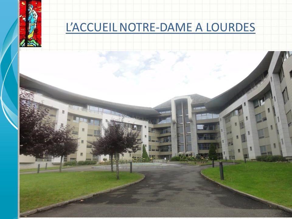 LACCUEIL NOTRE-DAME A LOURDES